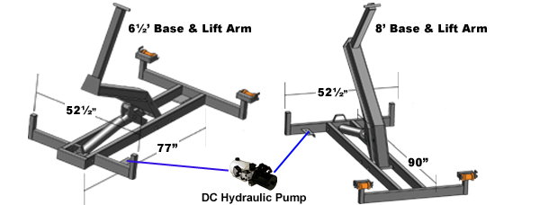 AmeriDeck Lift Arms